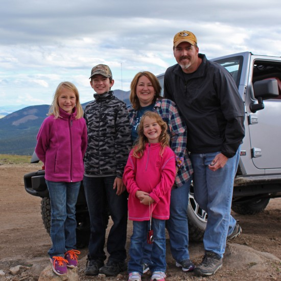 2013-08-01 -- Family Photo -- Colorado Jeeping